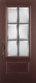 Albright Prefinished Fiberglass Door Collection