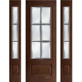 Albright 8ft Prehung Door Collection 2 Sidelites
