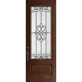 Arvon 8FT Prehung DarkWalnut Door Collection
