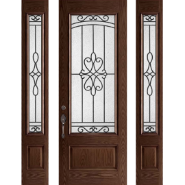 Arvon 8ft Prehung Door Collection 2 Sidelites